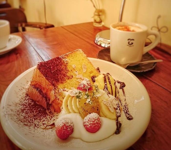 きんかんシフォンケーキ