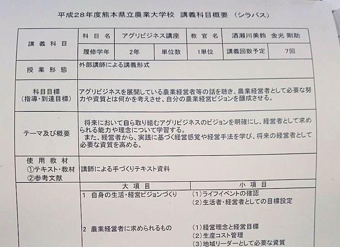 熊本県立農業大学