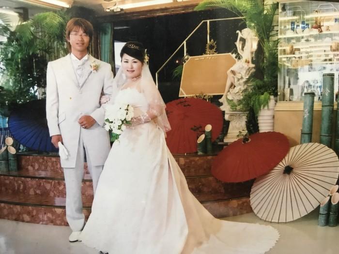 9年前の結婚式