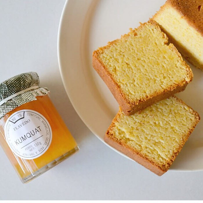 金柑ジャムとシトロンケーキ